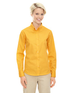 78193 Ladies' Operate Long-Sleeve Twill Shirt