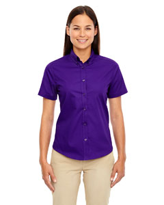 78194 Ladies' Optimum Short-Sleeve Twill Shirt