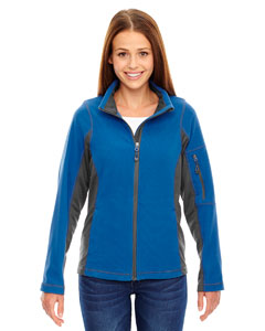 78198 Ladies' Generate Textured Fleece Jacket