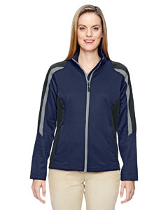 78201 Ladies' Strike Colorblock Fleece Jacket