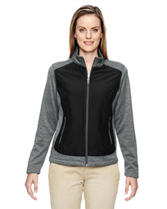 78202 Ladies' Victory Hybrid Performance Fleece Jacket