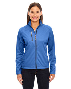 78213 Ladies' Trace Printed Fleece Jacket