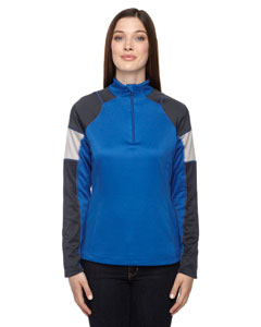 78214 Ladies' Quick Performance Interlock Quarter-Zip