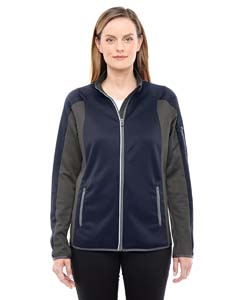 78230 Ladies' Motion Interactive ColorBlock Performance Fleece Jacket