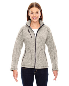 78669 Ladies' Peak Sweater Fleece Jacket