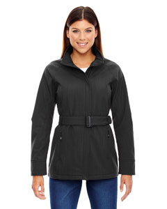 Wholesale Ash City - North End Sport Blue 78801 Ladies' Skyscape Three-Layer Textured Two-Tone Soft Shell Jacket - CARBN HEATH 452