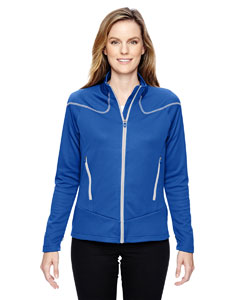 78806 Ladies' Cadence Interactive Two-Tone Brush Back Jacket