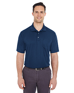 8210P Adult Cool & Dry Mesh Piqué Polo with Pocket