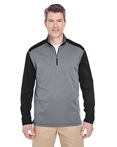 8232 Adult Cool & Dry Sport Two-Tone Quarter-Zip Pullover