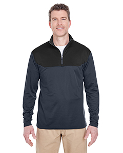 8233 Adult Cool & Dry Sport Colorblock Quarter-Zip Pullover