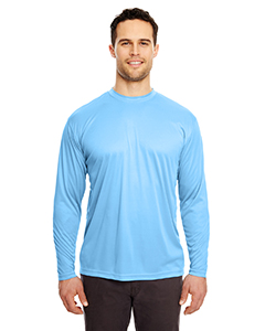 8422 Adult Cool & Dry Sport Long-Sleeve Performance Interlock T-Shirt