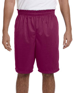 848 Adult Tricot Mesh/Tricot Lined Short