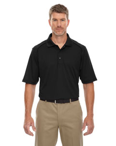 Wholesale Ash City - Extreme 85108 Men's Eperformance™ Shield Snag Protection Short-Sleeve Polo - BLACK 703
