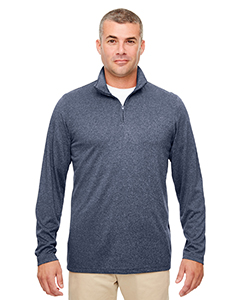 8618 Men's Cool & Dry Heathered Performance Quarter-Zip