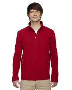 Wholesale Ash City - Core 365 88184 Men's Cruise Two-Layer Fleece Bonded Soft Shell Jacket - CLASSIC RED 850