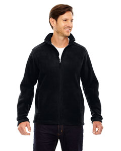 Wholesale Ash City - Core 365 88190 Men's Journey Fleece Jacket - BLACK 703