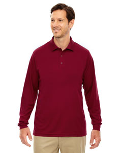 88192 Men's Pinnacle Performance Long-Sleeve Piqué Polo