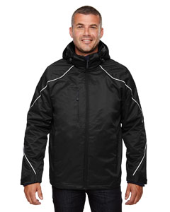 88196 Men's Angle 3-in-1 Jacket with Bonded Fleece Liner