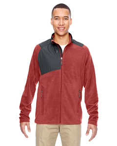 88215 Men's Excursion Trail Fabric-Block Fleece Jacket