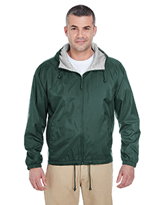 8915 Adult Fleece-Lined Hooded Jacket