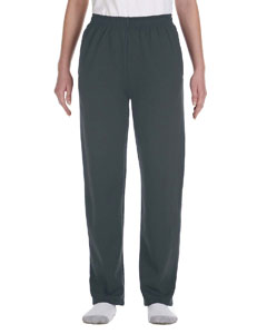974Y Youth 8 oz. NuBlend® Open-Bottom Fleece Sweatpants