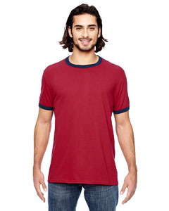 988AN Lightweight Ringer T-Shirt