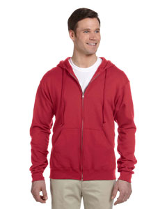 993 Adult 8 oz. NuBlend® Fleece Full-Zip Hood