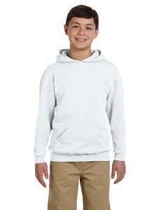 Wholesale Jerzees 996Y Youth 8 oz. NuBlend® Fleece Pullover Hood - ASH