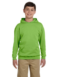 996Y Youth 8 oz. NuBlend® Fleece Pullover Hood