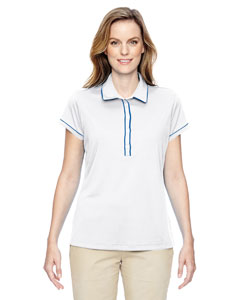 A126 Ladies' Piped Fashion Polo