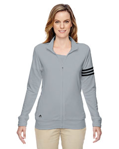 A191 Ladies' climalite® 3-Stripes Full-Zip