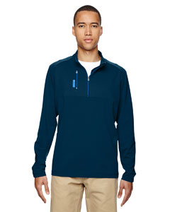 A195 Men's puremotion® Mixed Media Quarter-Zip