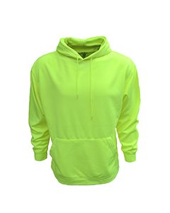 B309 Adult Performance Pullover Hood with Bonded Polar Fleece