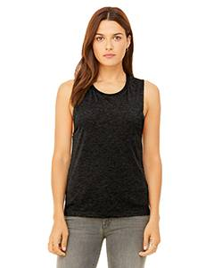 B8803 Ladies' Flowy Scoop Muscle Tank