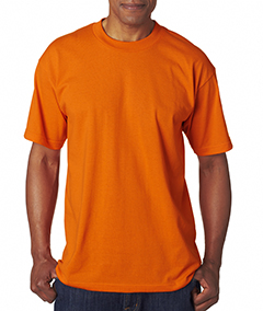 Wholesale Bayside BA1701 Adult Adult Tee - BRIGHT ORANGE