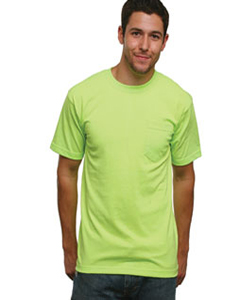BA1725 Adult Adult Pocket Tee