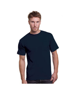 BA3015 Adult ADULT UNION MADE POCKET TEE
