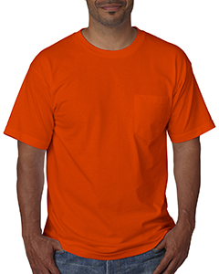 BA5070 Adult Adult Short-Sleeve Tee with Pocket