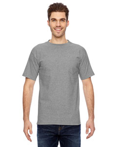 BA7100 Adult Adult Short-Sleeve Tee with Pocket