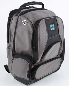 Wholesale FUL BD5333 Alleyway Groundbreaker Backpack - TITANIUM/ BLACK