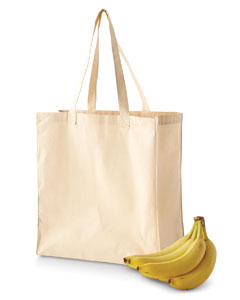 BE055 6 oz. Canvas Grocery Tote