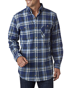 Blank Backpacker Men's Yarn-Dyed Flannel Shirt