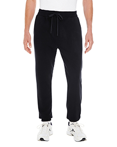 Wholesale Burnside BU8800 Adult Fleece Jogger Sweatpants - BLACK