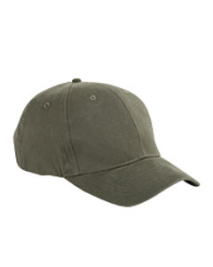 BX002 6-Panel Brushed Twill Structured Cap