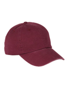 BX005 6-Panel Washed Twill Low-Profile Cap