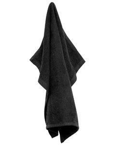 Wholesale UltraClub by Carmel Towel C1518 Large Rally Towel - BLACK