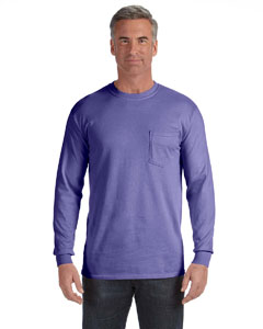C4410 Adult 6.1 oz. Long-Sleeve Pocket T-Shirt