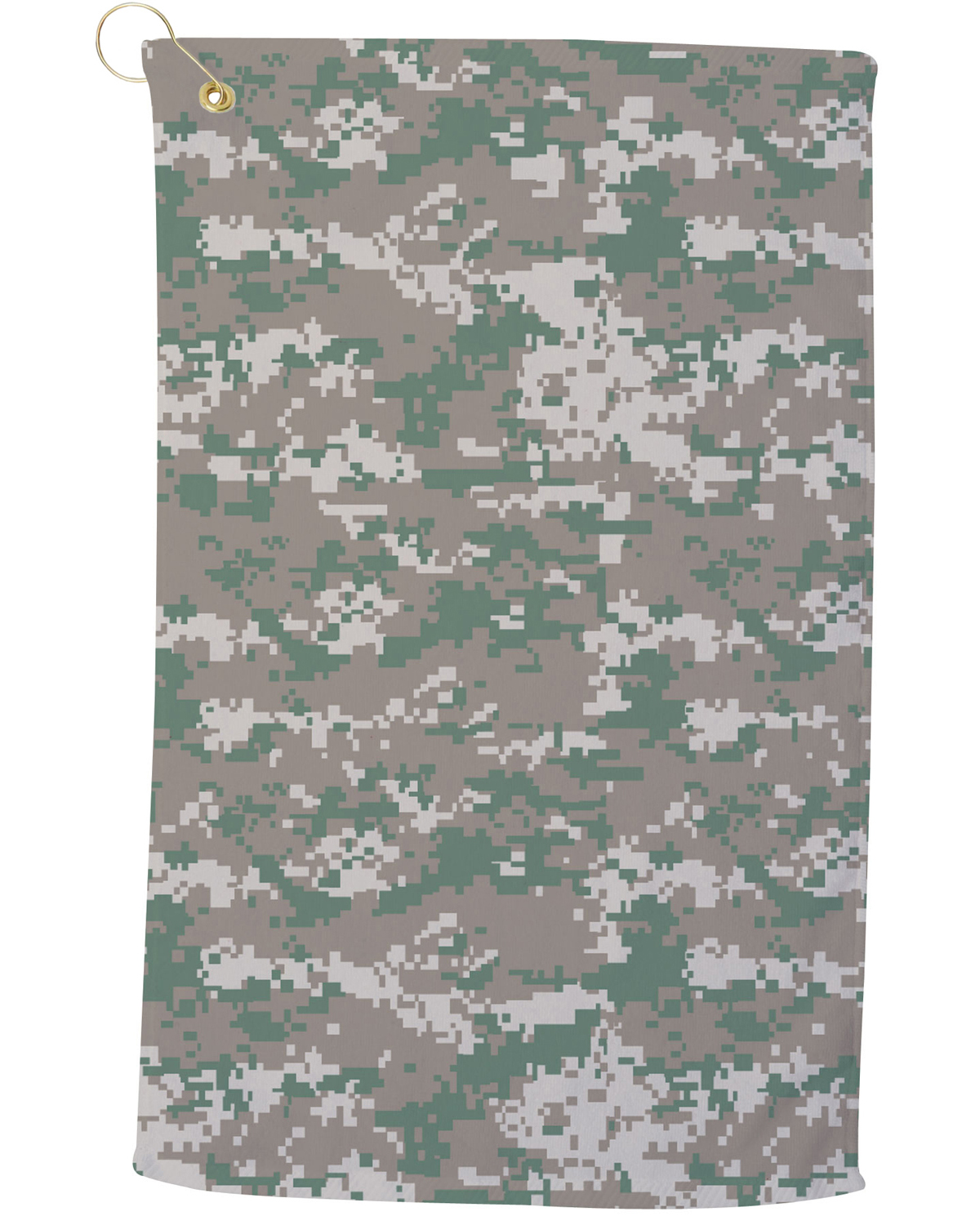 CAM25CG Large Camo Golf Towel
