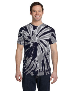 CD110 Adult 5.4 oz., 100% Cotton Twist Tie-Dyed T-Shirt