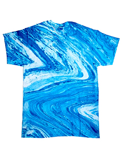 CD1111 Adult Marble Tie-Dyed T-Shirt